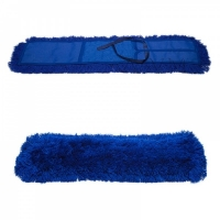 МОП плоский, 80х11 см, акрил, карман+завязка (рамочный), сухая уборка