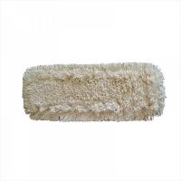 МОП плоский, 50х13 см, хлопок, ухо+карман, белый