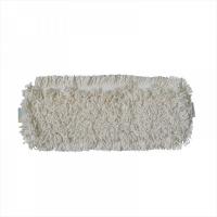 МОП плоский, 50х16 см, хлопок, ухо+карман, белый, ЛАЙТ