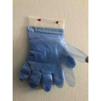 Перчатки одноразовые полиэтиленовые отрывные